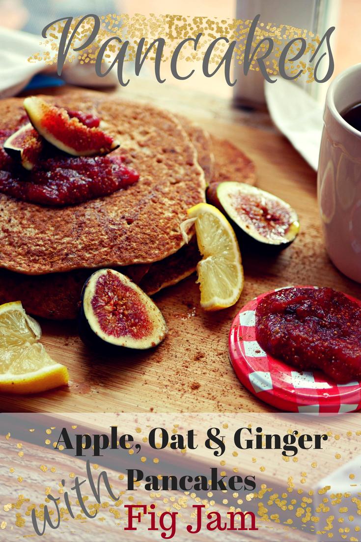 Apple, Oats & Ginger Pancake Recipe by pe-ta.com
