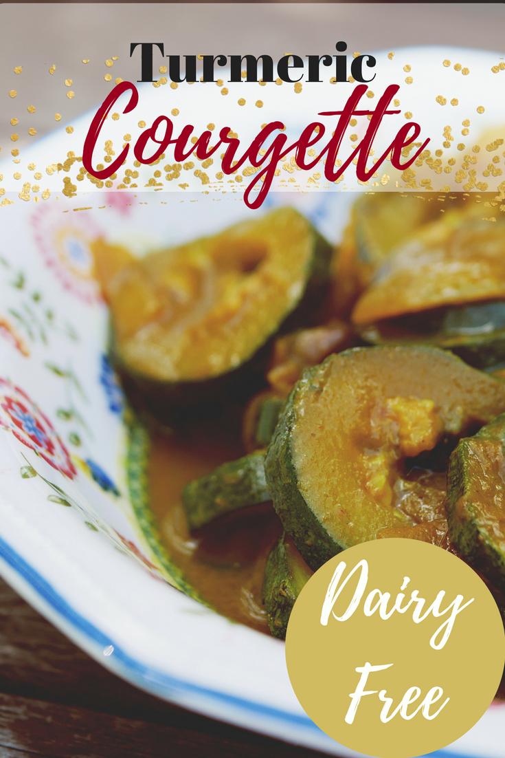 Turmeric Courgette Recipe by pe-ta.com