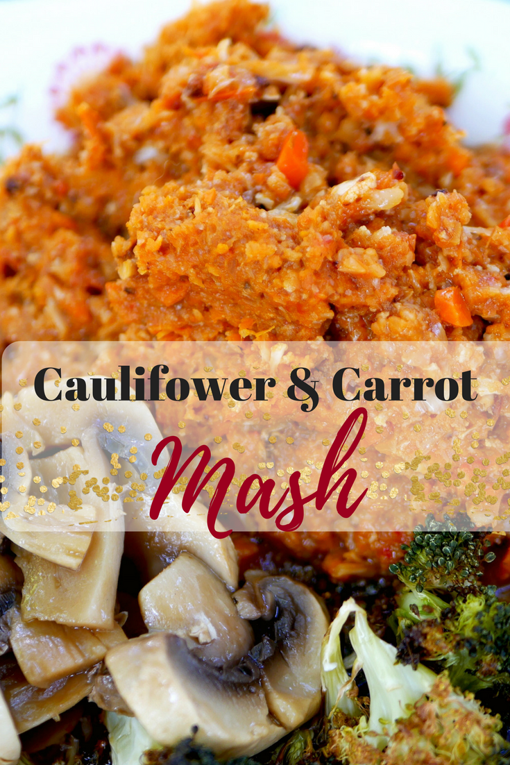 Cauliflower and Carrot Mash Recipe. A warming bowl of goodness for the cooler months of the year. Mash that is good for the body and soul - warming, nourishing and making you feel 100% you.