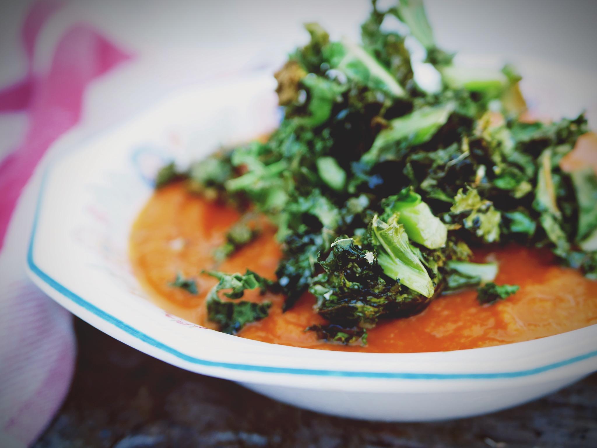 A scrumptious tomato soup