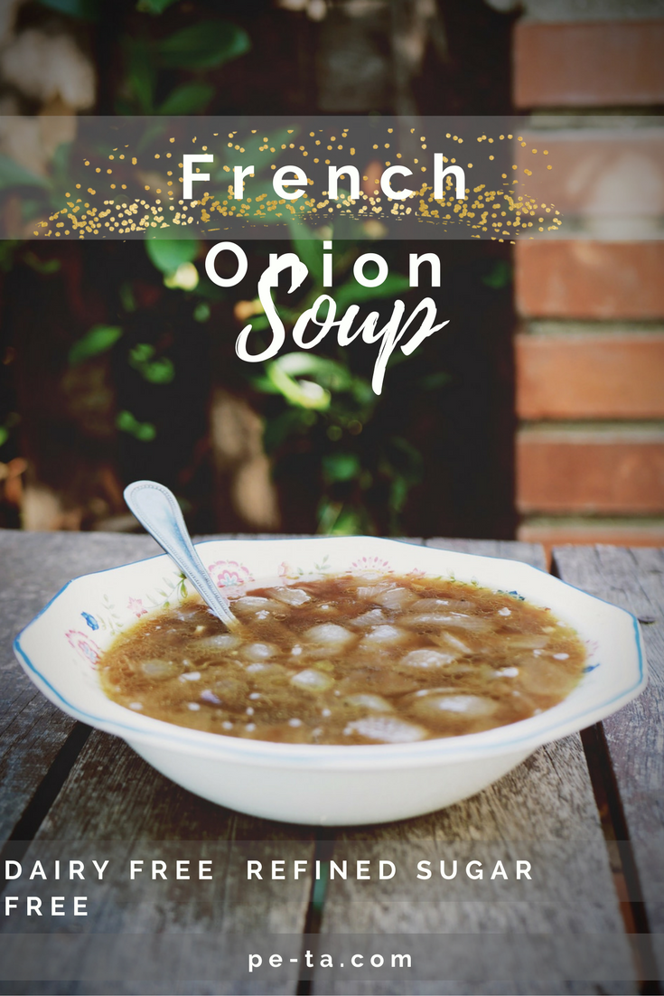 French Onion Soup Recipe - Perfect for fighting off winter colds!