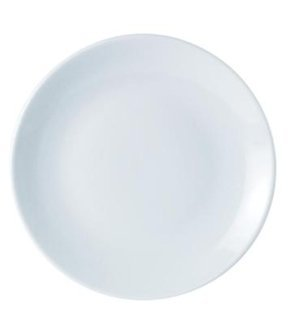 Plain White Plates - Set Of 6