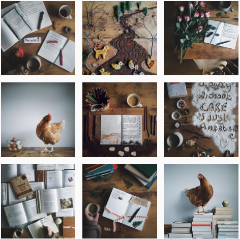 I adore Helen's beautiful photos, creativity and adorable chickens and ducks. Follow Helen over on  A Bookish Baker on Instagram.