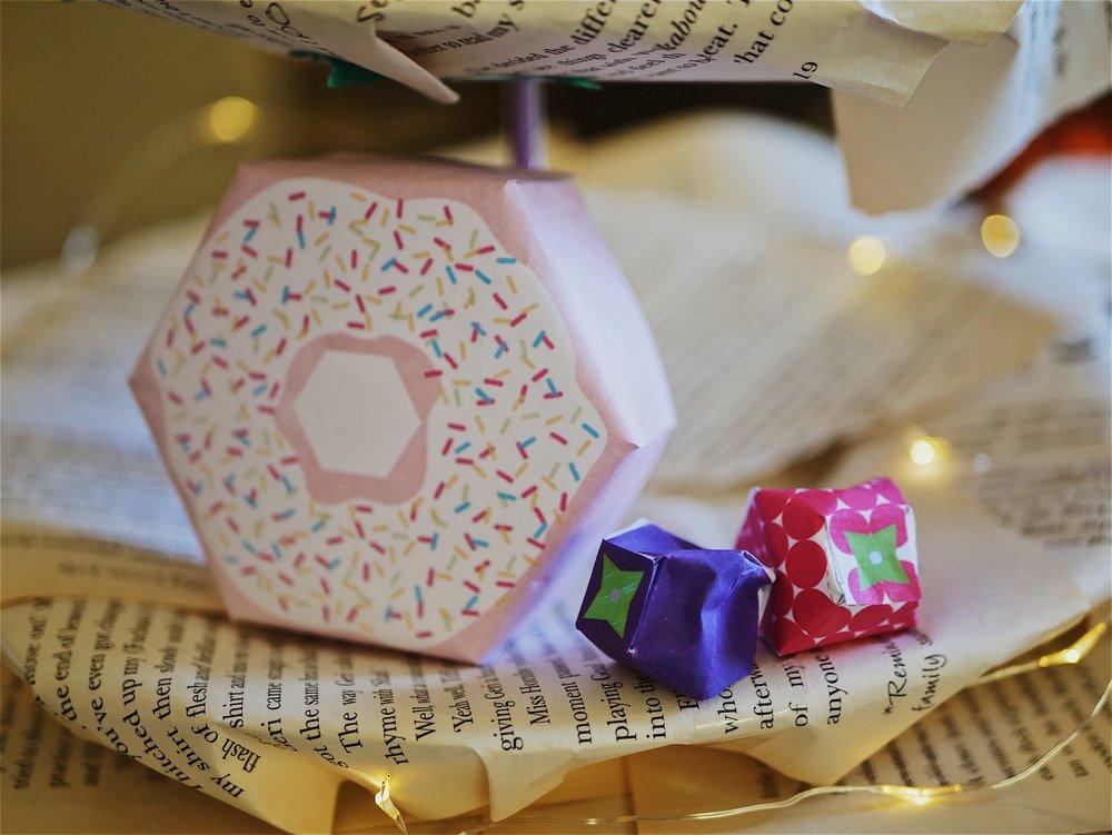 paper doughnuts