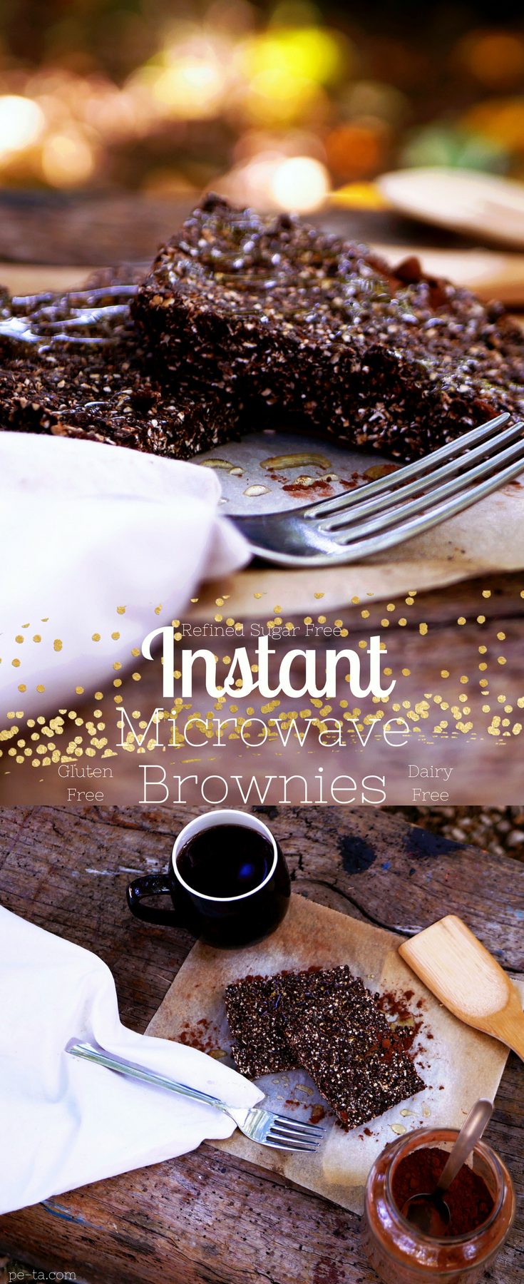 Instant Microwave Brownies
