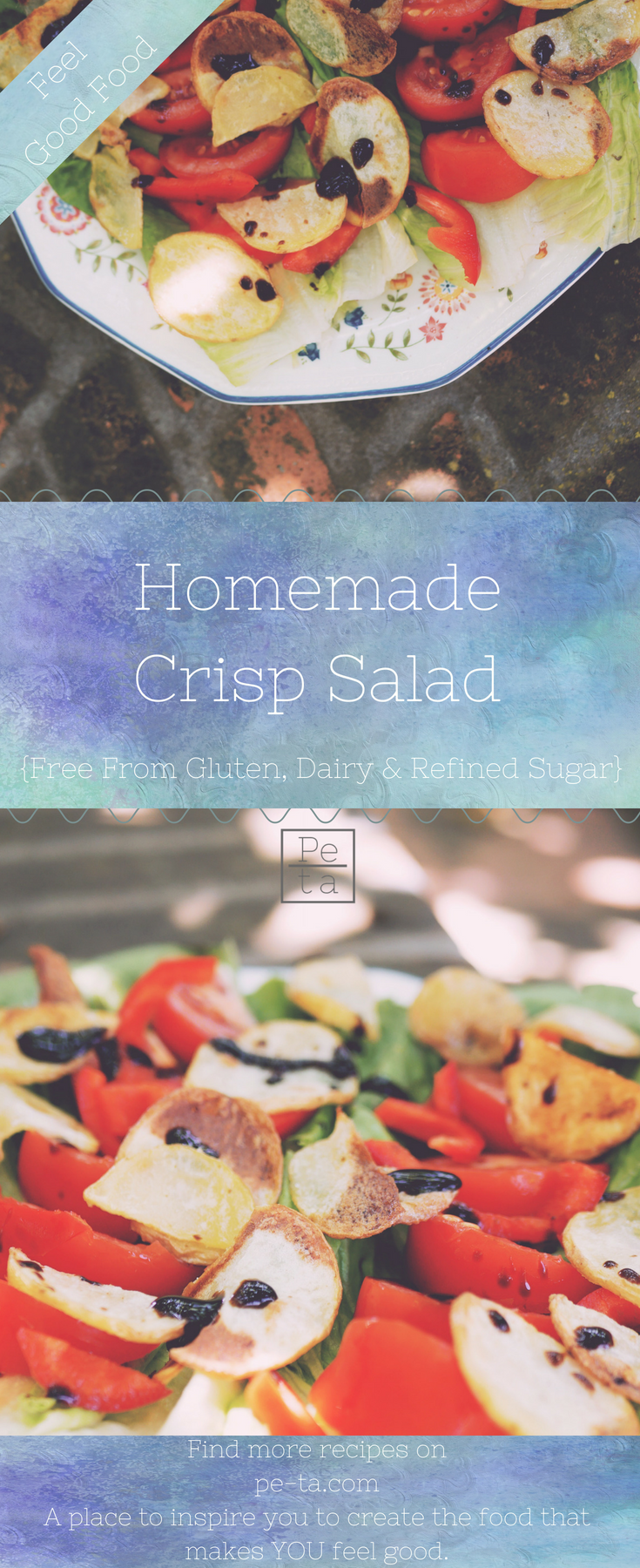 Homemade Crisp Salad - A Simple Summer Lunch