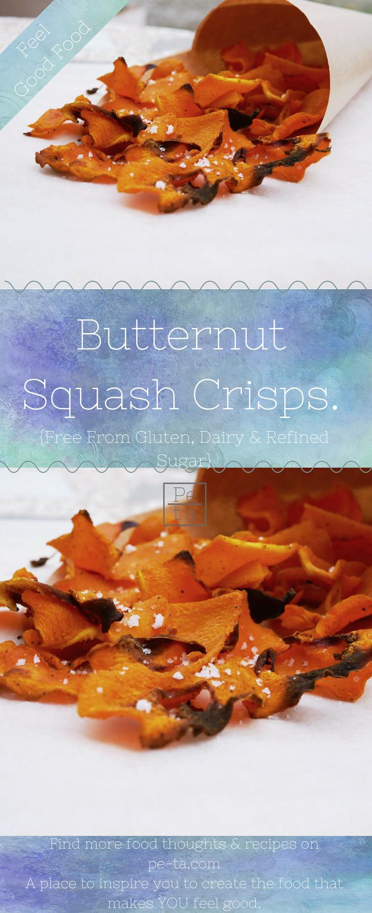 Butternut Squash Crisps