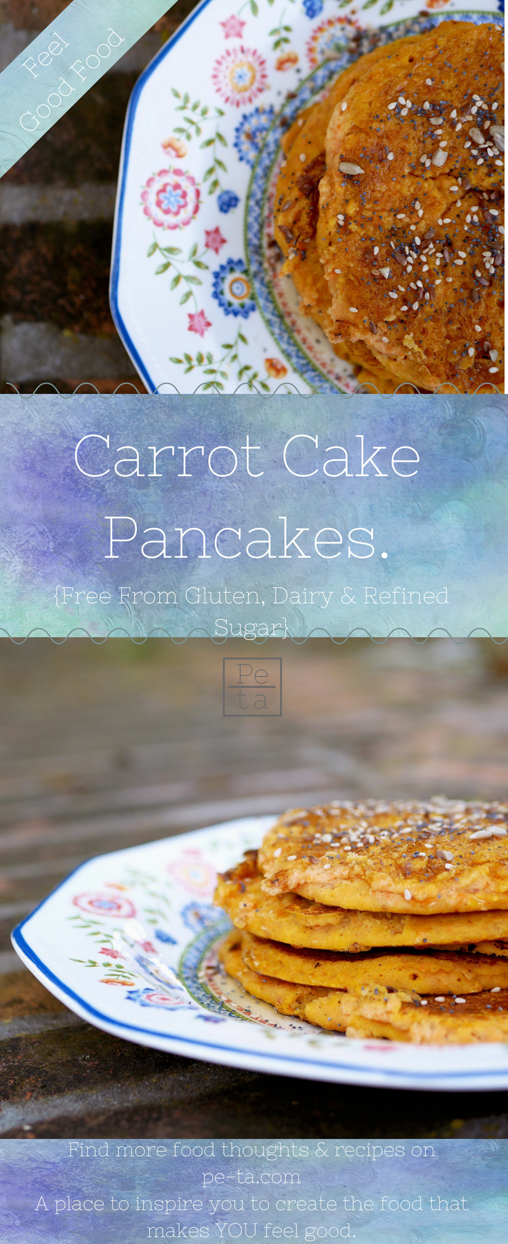 Free From Carrot Cake Pancakes