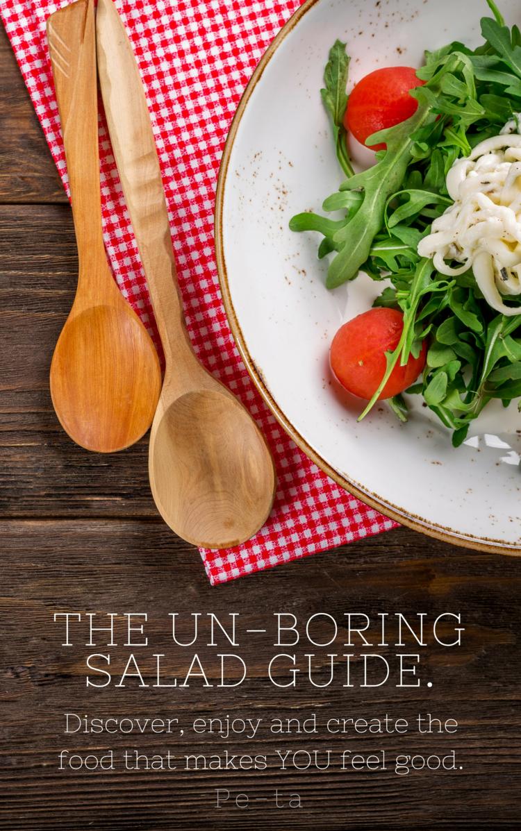 unboring salad guide