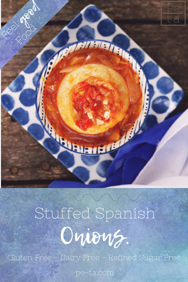 Spanish Stuffed Onions