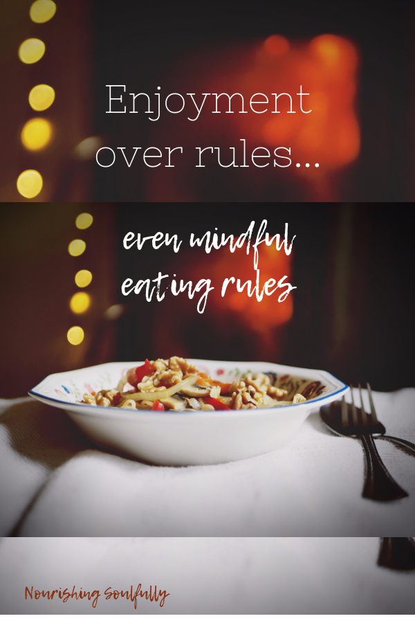 enjoyment over rules