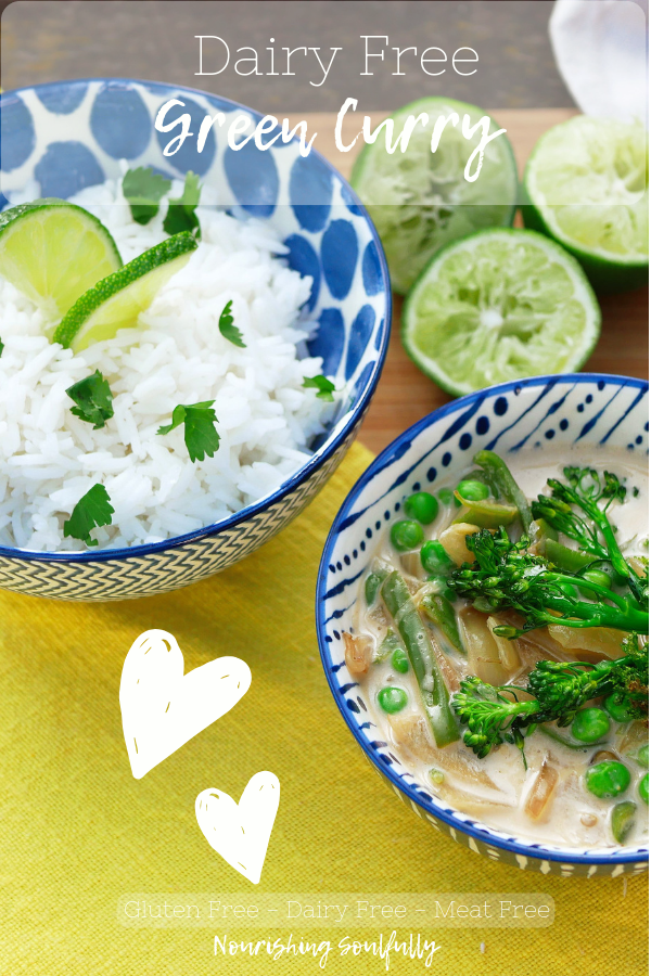 Green Curry - Dairy Free, Gluten Free, Refined Sugar Free, Meat Free & Egg Free