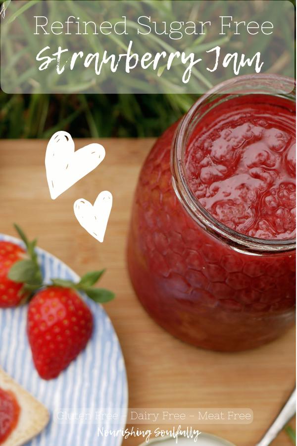 Strawberry Jam Recipe with No Added Sugar.
