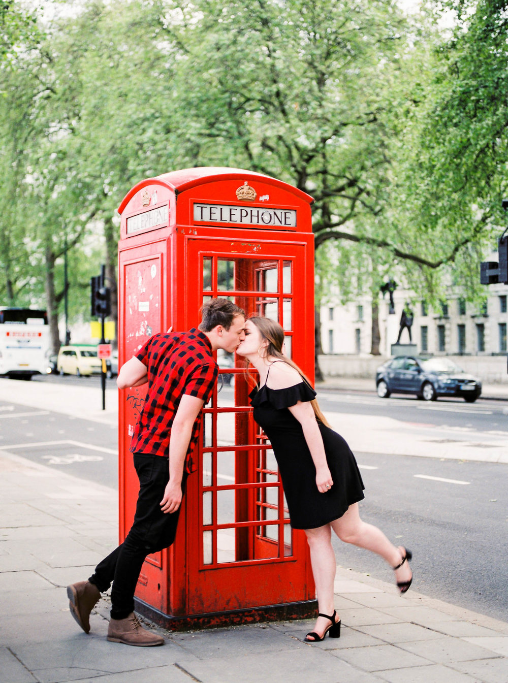 Amy O'Boyle Photography- Destination & UK Fine Art Film Wedding Photographer- London Proposal- Westminster Bridge Big Ben Engagement Shoot-9.jpg