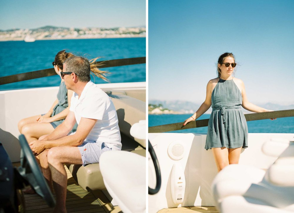 Amy O'Boyle Photography- Destination & UK Fine Art Film Wedding Photographer- South of France Hotel Du Cao Eden Roc St Tropez Yacht 2.jpg