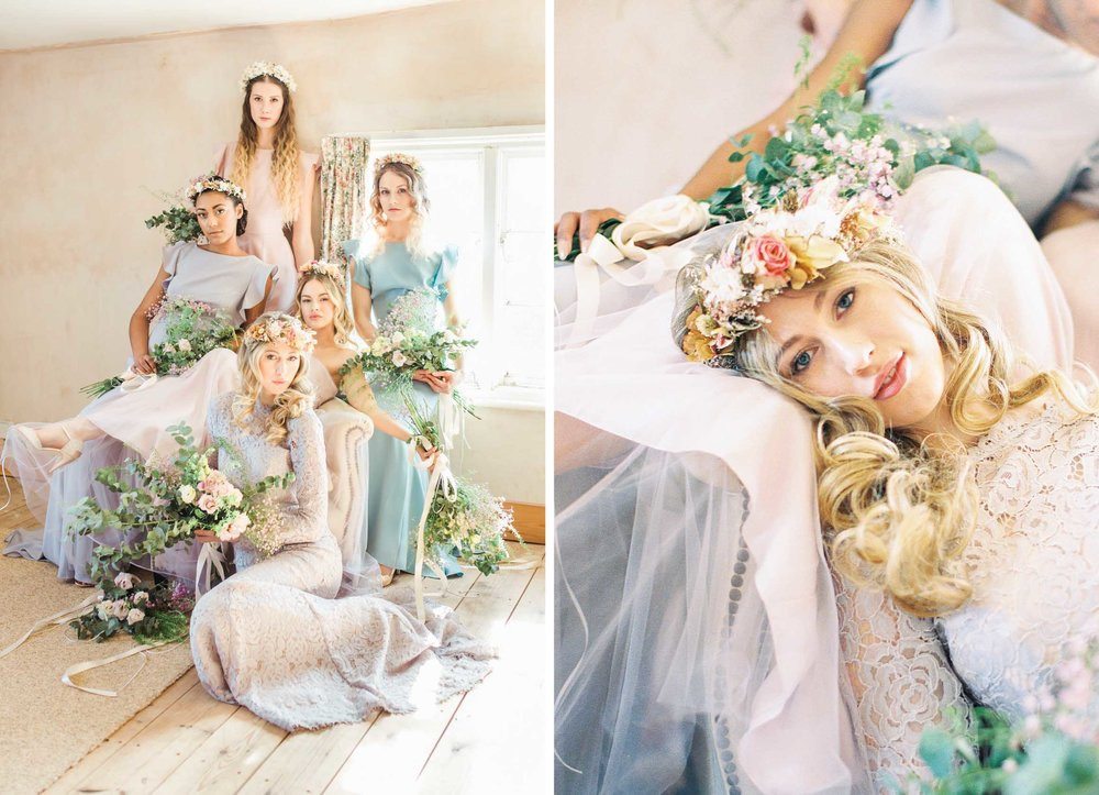 Amy O'Boyle Photography- Destination & UK Fine Art Film Wedding Photographer- TH&TH Bridesmaid Dress Shoot 2.jpg