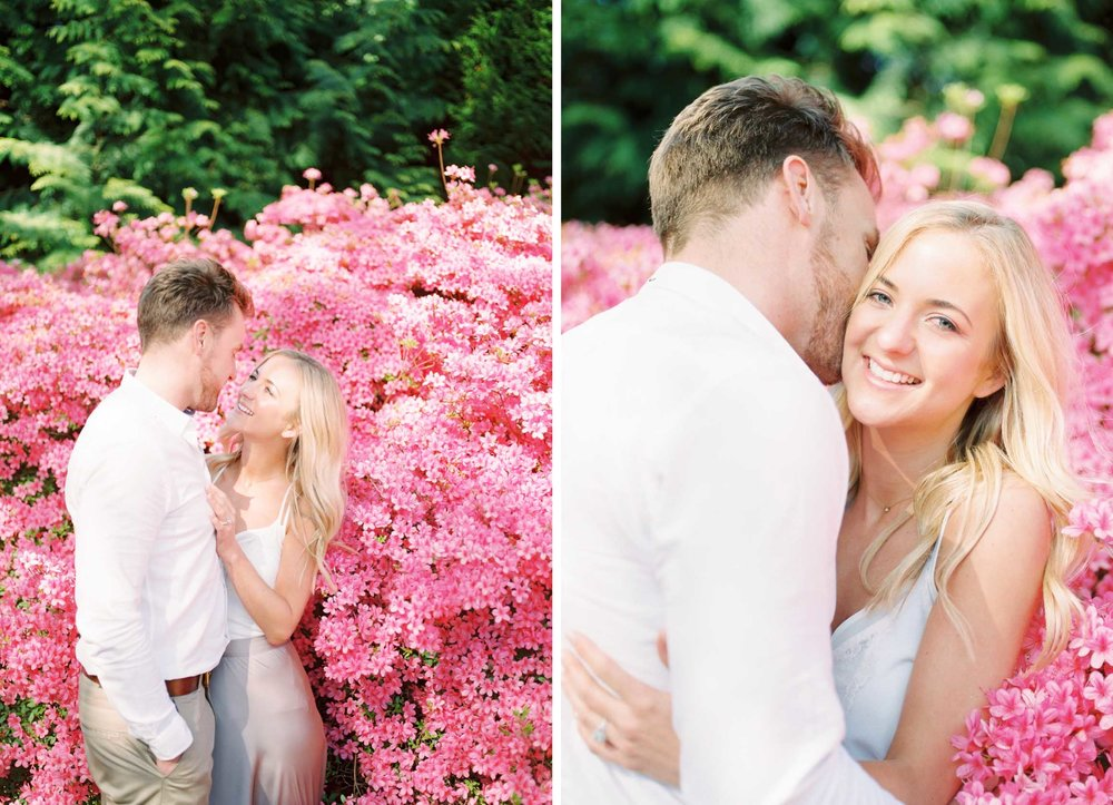 Amy O'Boyle Photography- Destination & UK Fine Art Film Wedding Photographer- Sheffield Park Garden National Trust Spring Engagement Shoot 6.jpg