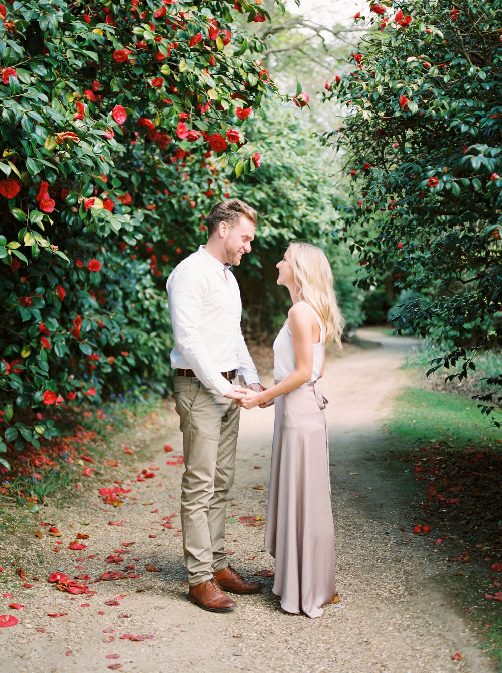 Amy O'Boyle Photography- Destination & UK Fine Art Film Wedding Photographer- Sheffield Park Garden National Trust Spring Engagement Shoot-1.jpg