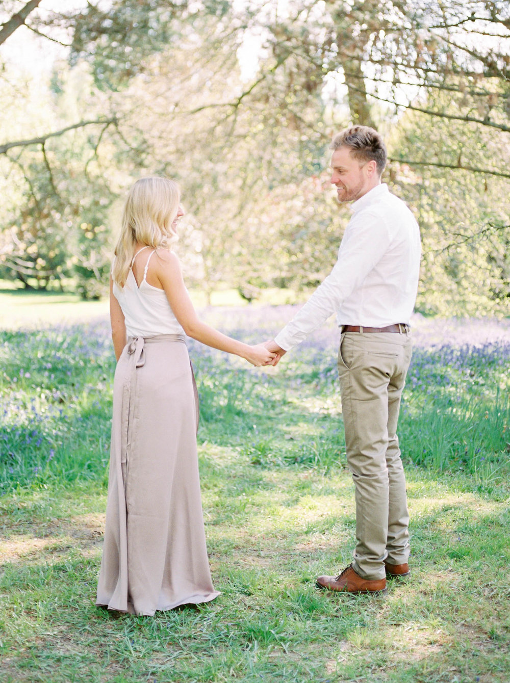 Amy O'Boyle Photography- Destination & UK Fine Art Film Wedding Photographer- Sheffield Park Garden National Trust Spring Engagement Shoot-6.jpg