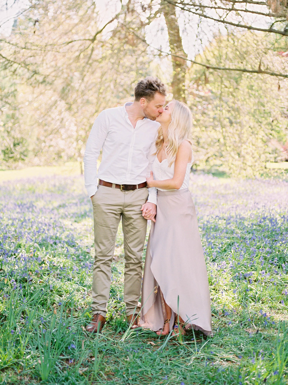 Amy O'Boyle Photography- Destination & UK Fine Art Film Wedding Photographer- Sheffield Park Garden National Trust Spring Engagement Shoot-11.jpg