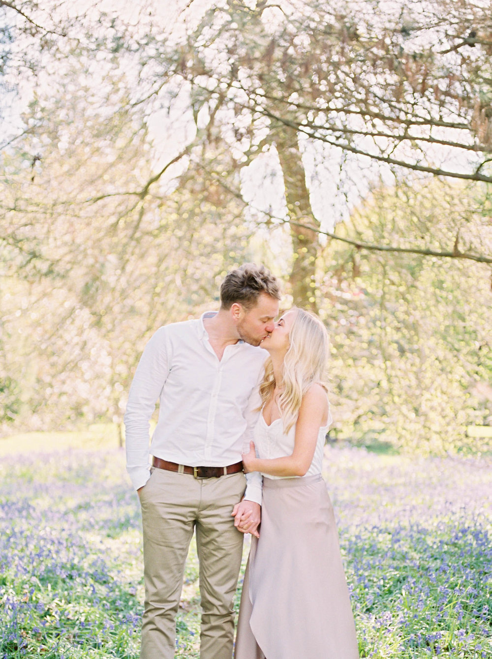 Amy O'Boyle Photography- Destination & UK Fine Art Film Wedding Photographer- Sheffield Park Garden National Trust Spring Engagement Shoot-12.jpg