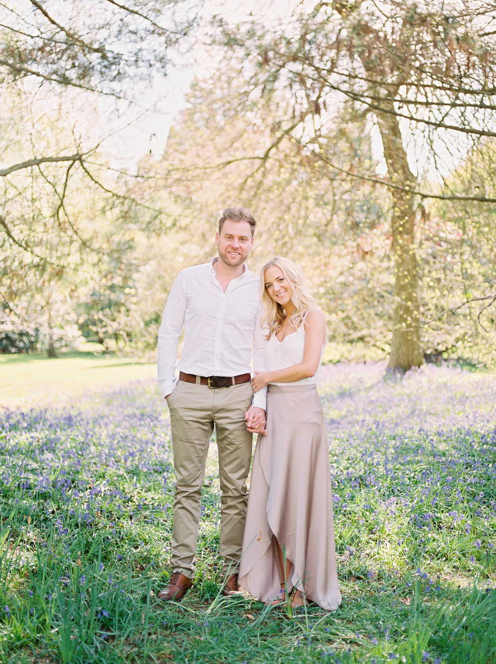 Amy O'Boyle Photography- Destination & UK Fine Art Film Wedding Photographer- Sheffield Park Garden National Trust Spring Engagement Shoot-14.jpg