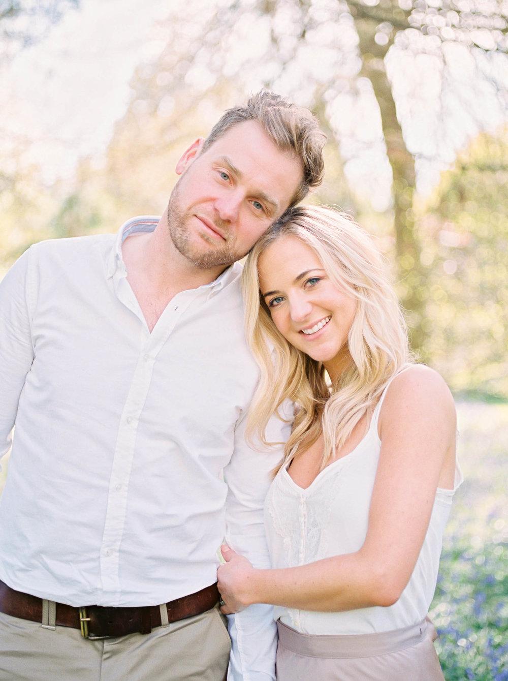 Amy O'Boyle Photography- Destination & UK Fine Art Film Wedding Photographer- Sheffield Park Garden National Trust Spring Engagement Shoot-15.jpg