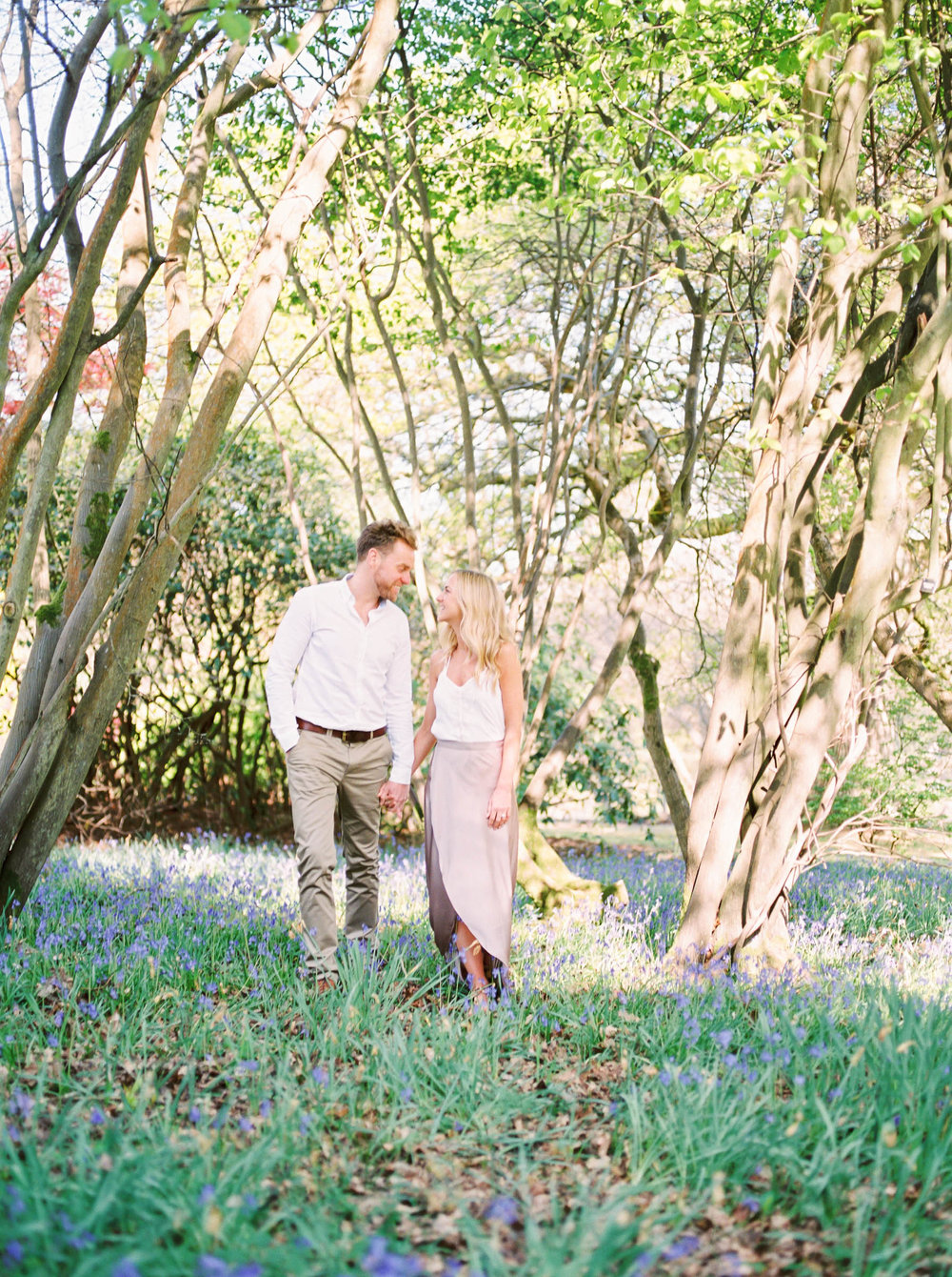Amy O'Boyle Photography- Destination & UK Fine Art Film Wedding Photographer- Sheffield Park Garden National Trust Spring Engagement Shoot-19.jpg