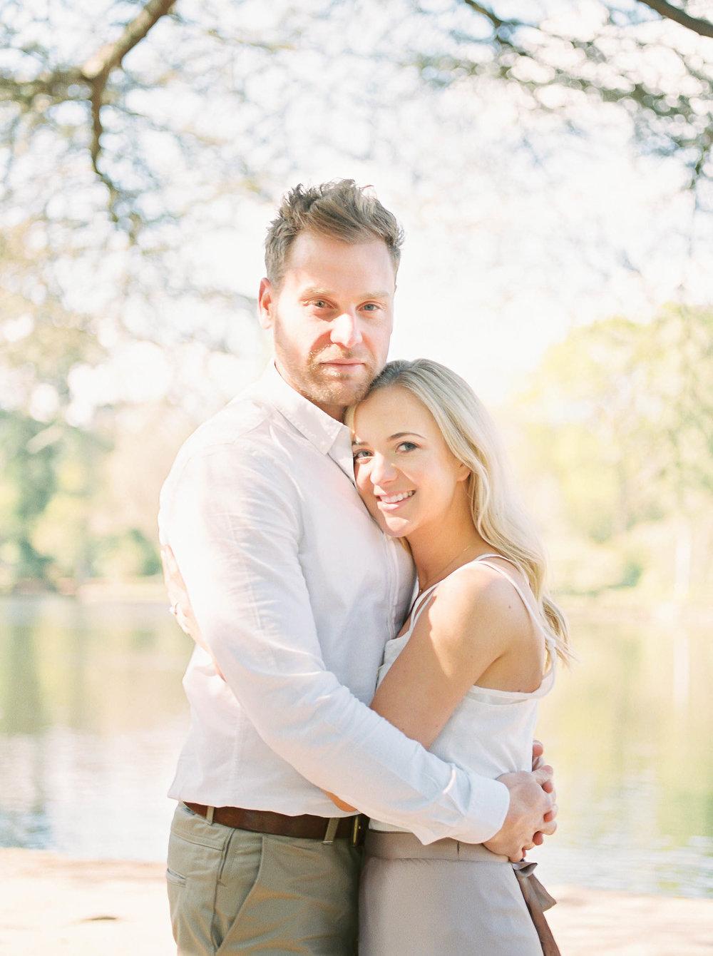 Amy O'Boyle Photography- Destination & UK Fine Art Film Wedding Photographer- Sheffield Park Garden National Trust Spring Engagement Shoot-25.jpg
