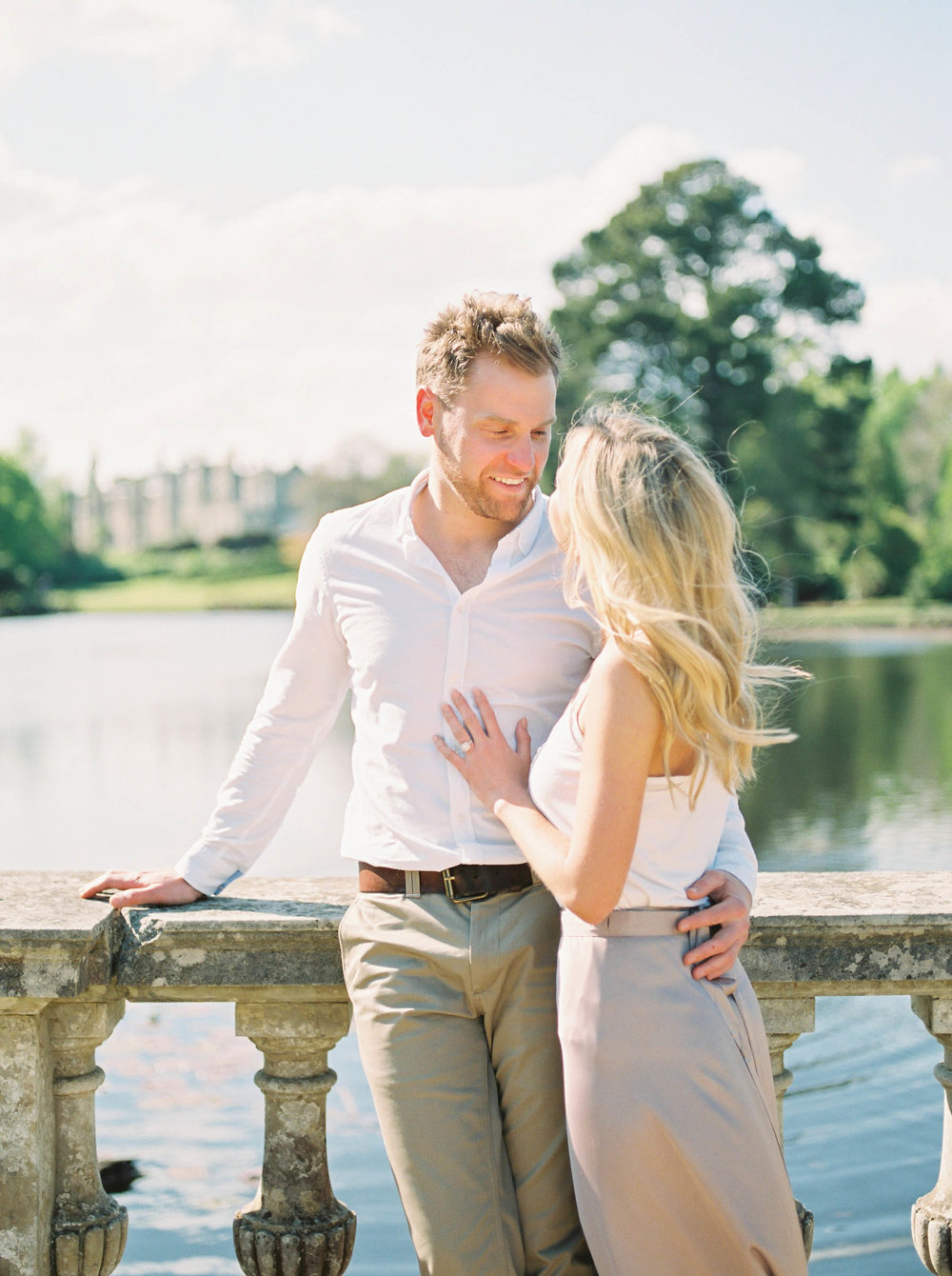 Amy O'Boyle Photography- Destination & UK Fine Art Film Wedding Photographer- Sheffield Park Garden National Trust Spring Engagement Shoot-29.jpg