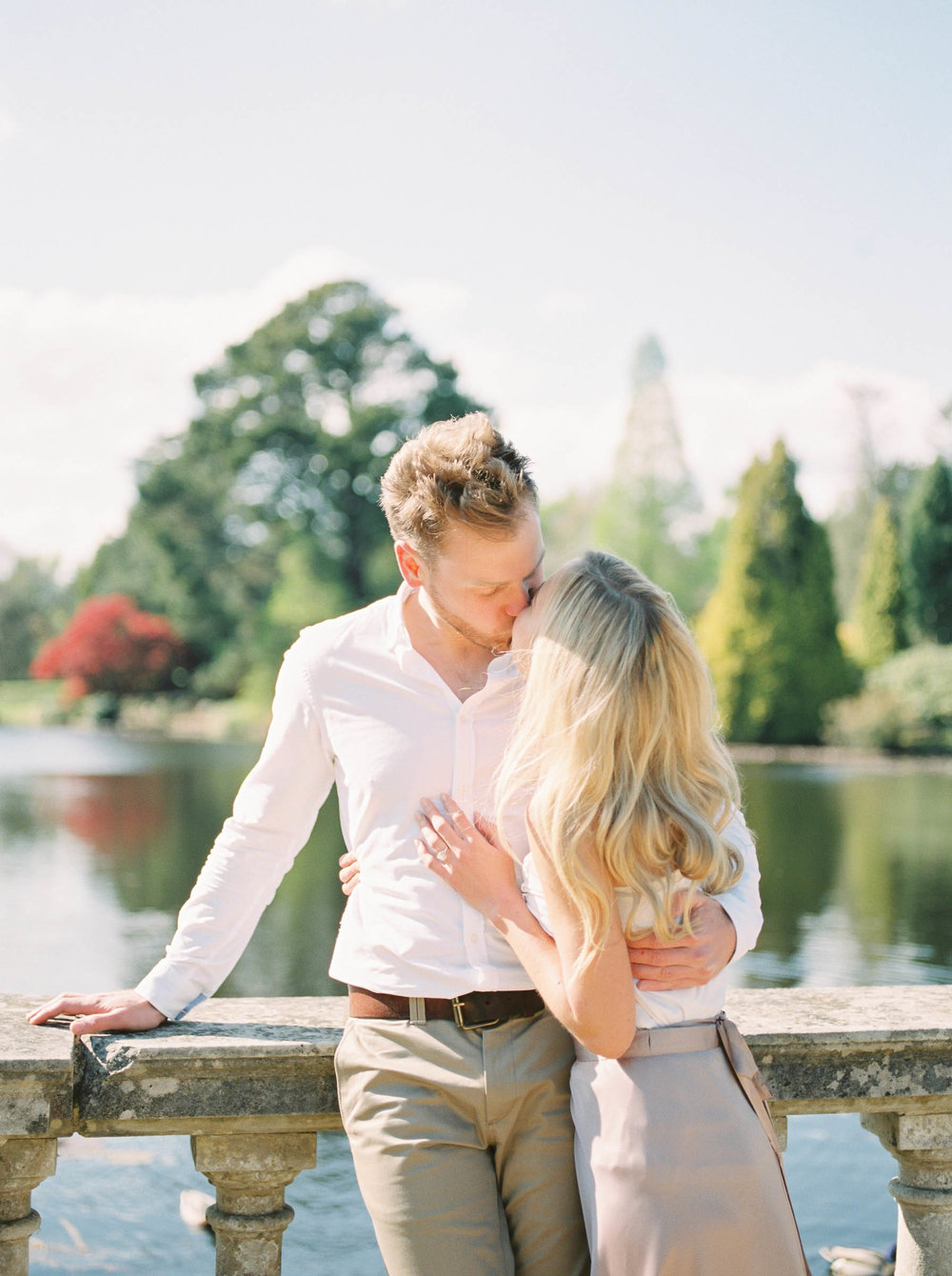 Amy O'Boyle Photography- Destination & UK Fine Art Film Wedding Photographer- Sheffield Park Garden National Trust Spring Engagement Shoot-31.jpg