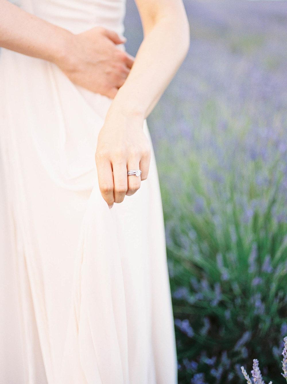 Amy O'Boyle Photography- Destination & UK Fine Art Film Wedding Photographer- Hitchin Lavender Engagement Shoot-29.jpg