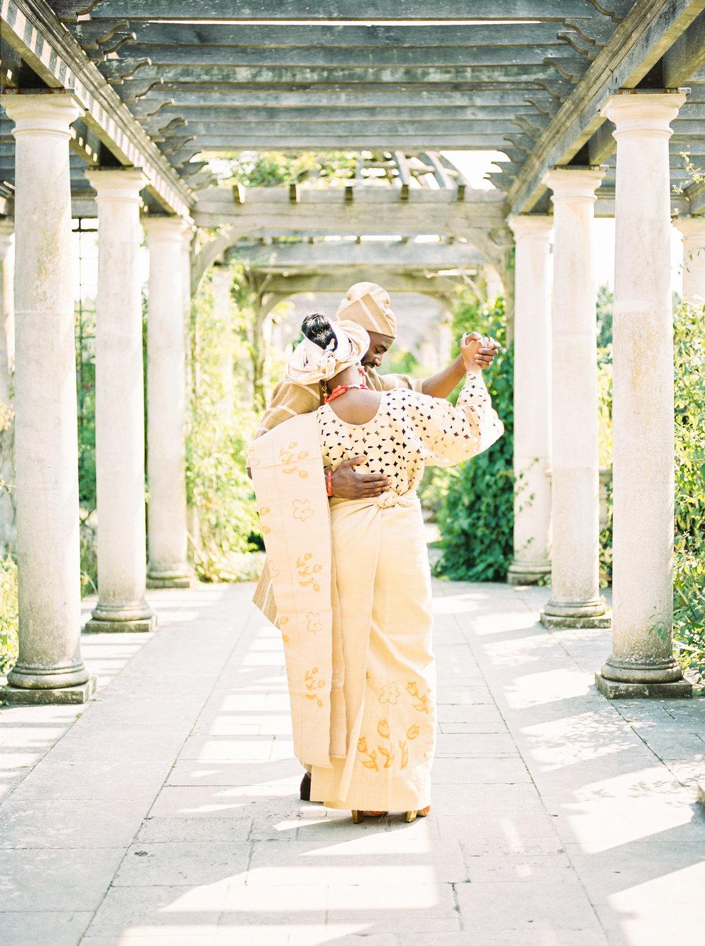 Amy O'Boyle Photography- Destination & UK Fine Art Film Wedding Photographer- The Pergola and Hill Garden Wedding-48.jpg