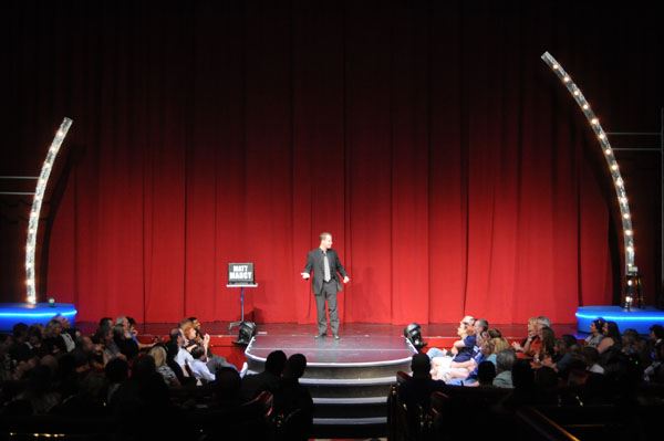 Wowing the audience at the Flamino Hotel & Casino in Las Vegas