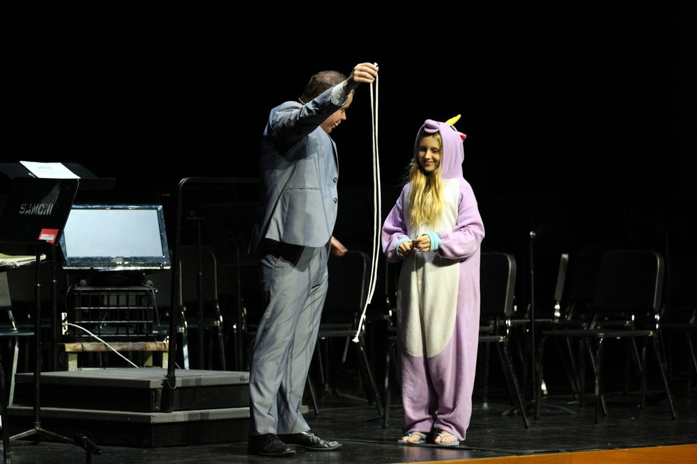 Performing for a Unicorn