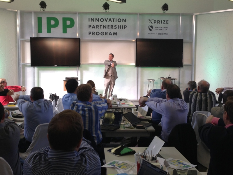 Engaging a corporate crowd at an IPP retreat