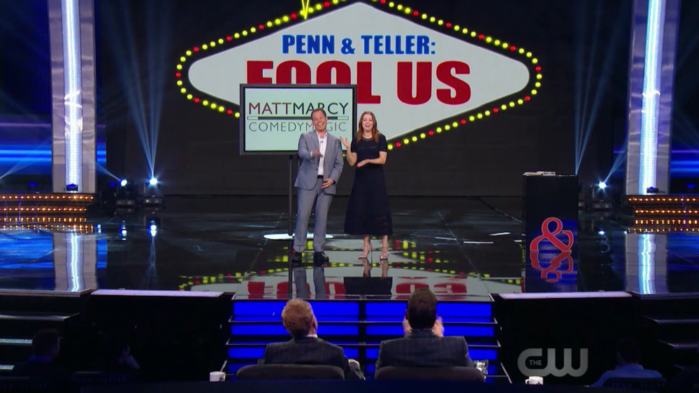 On Penn & Teller: Fool Us
