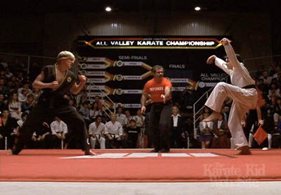 """If do right, no can defense."" — Kesuke Miyagi"