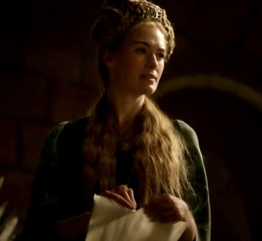 """Is this meant to be your shield, Lord Stark? A piece of paper?""  —    Cersei Lanniste r"