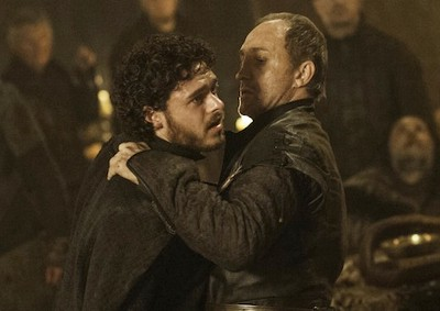 """The Lannisters send their regards."" — Roose Bolton, Stakeholder"