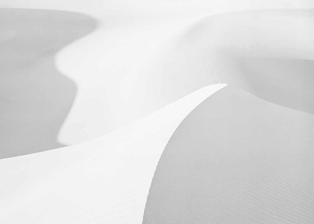 Dune Form, Death Valley, CA, 1982