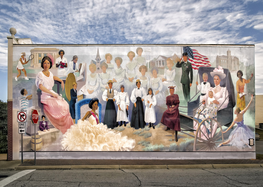 Wall Mural #2, Dothan, AL, 2013 (c)