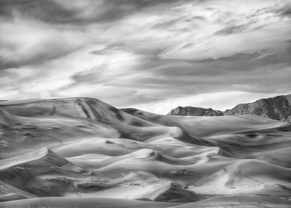 Storm Clouds, Great Sand Dunes, CO, 2016