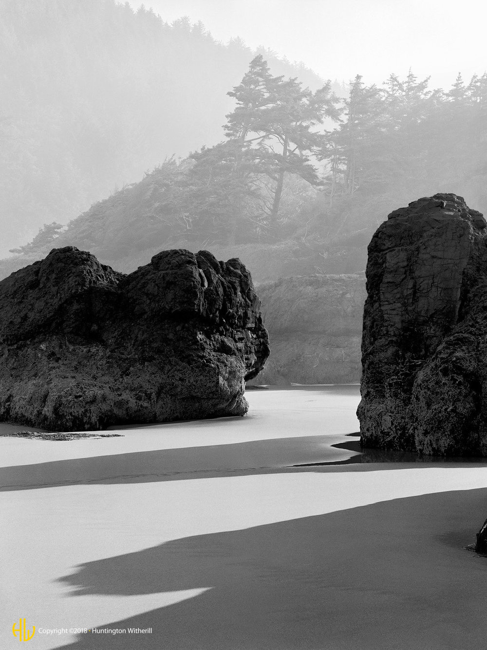 Morning Mists, Oregon Coast, 1979