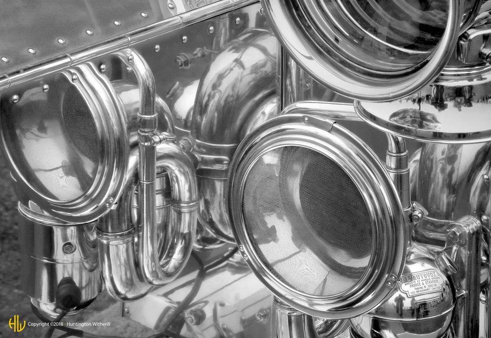 Horn Detail, 1910 Rolls Royce Silver Ghost, 2005