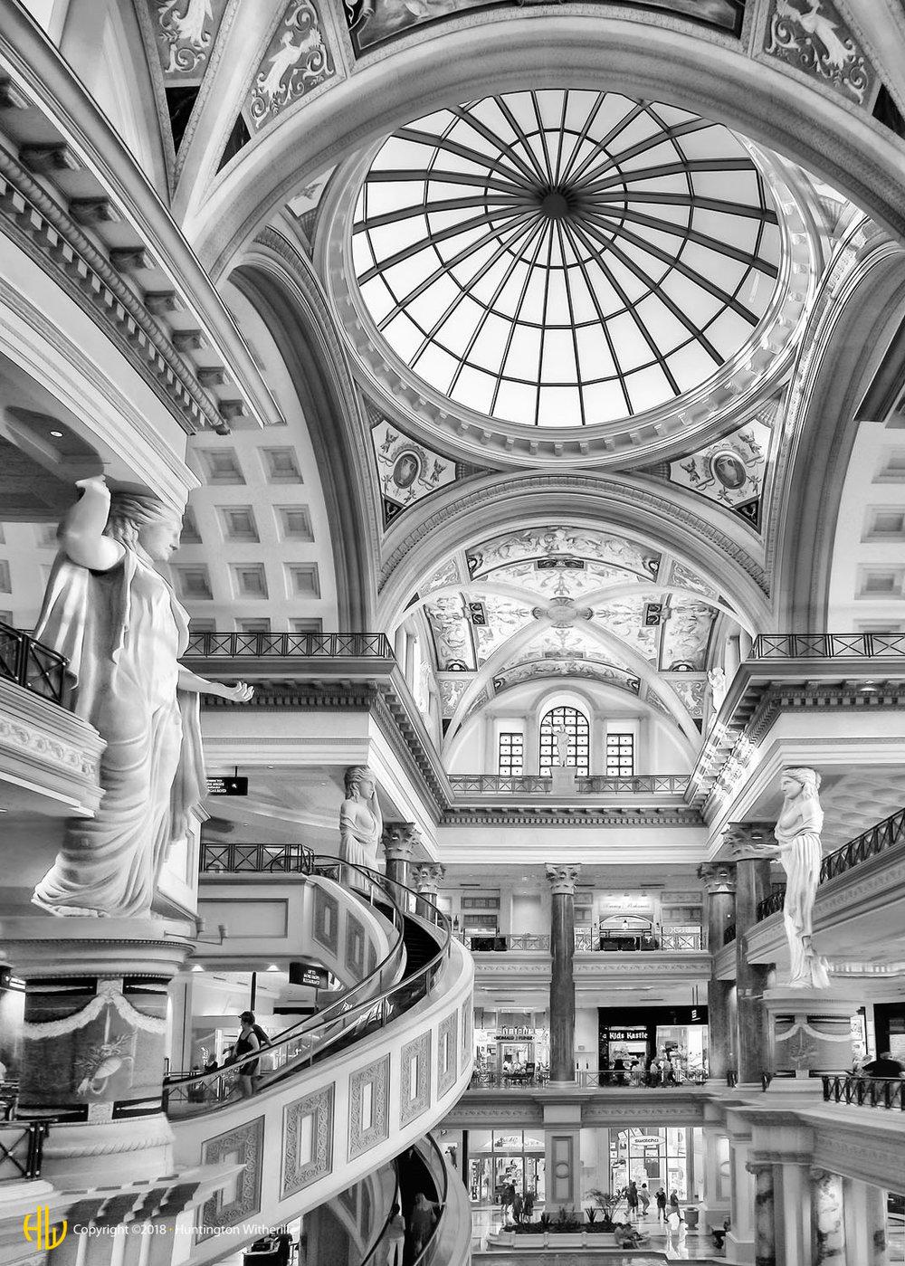 Atrium, Ceasar's Palace, Las Vegas, NV, 2013