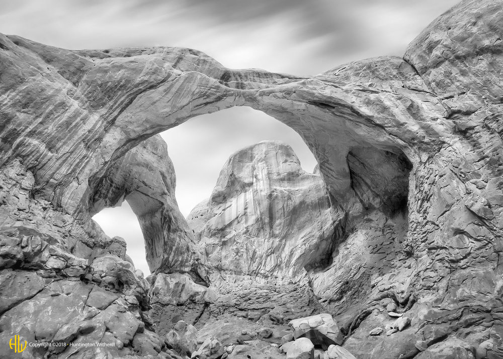Double Arch, Arches N. P., UT, 2009