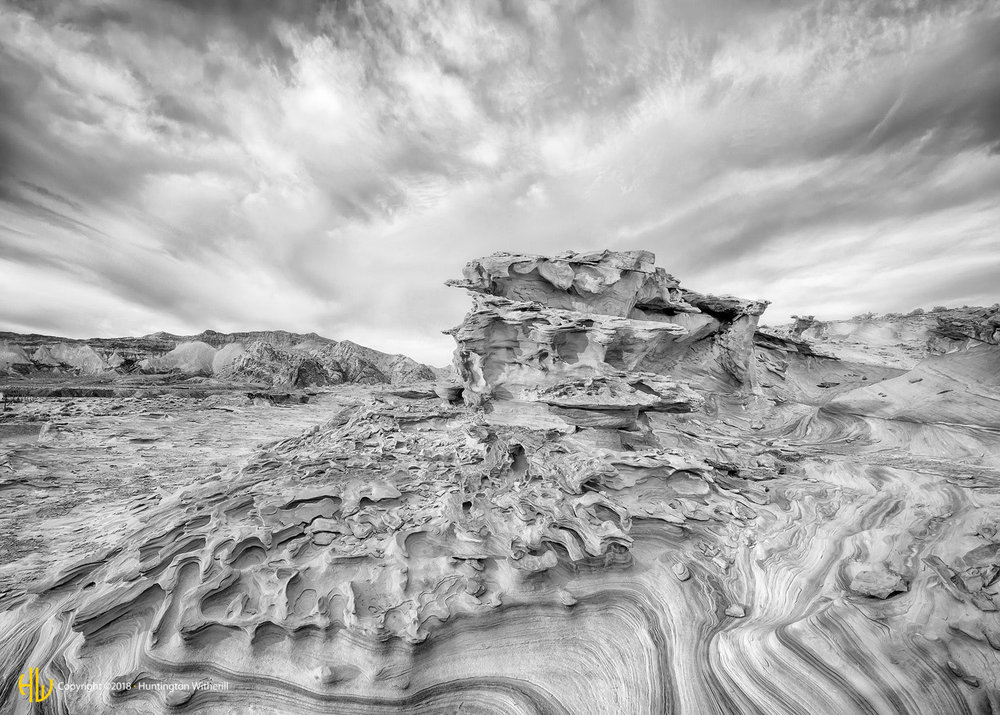 Sandstone Formation #1, Nevada, 2015