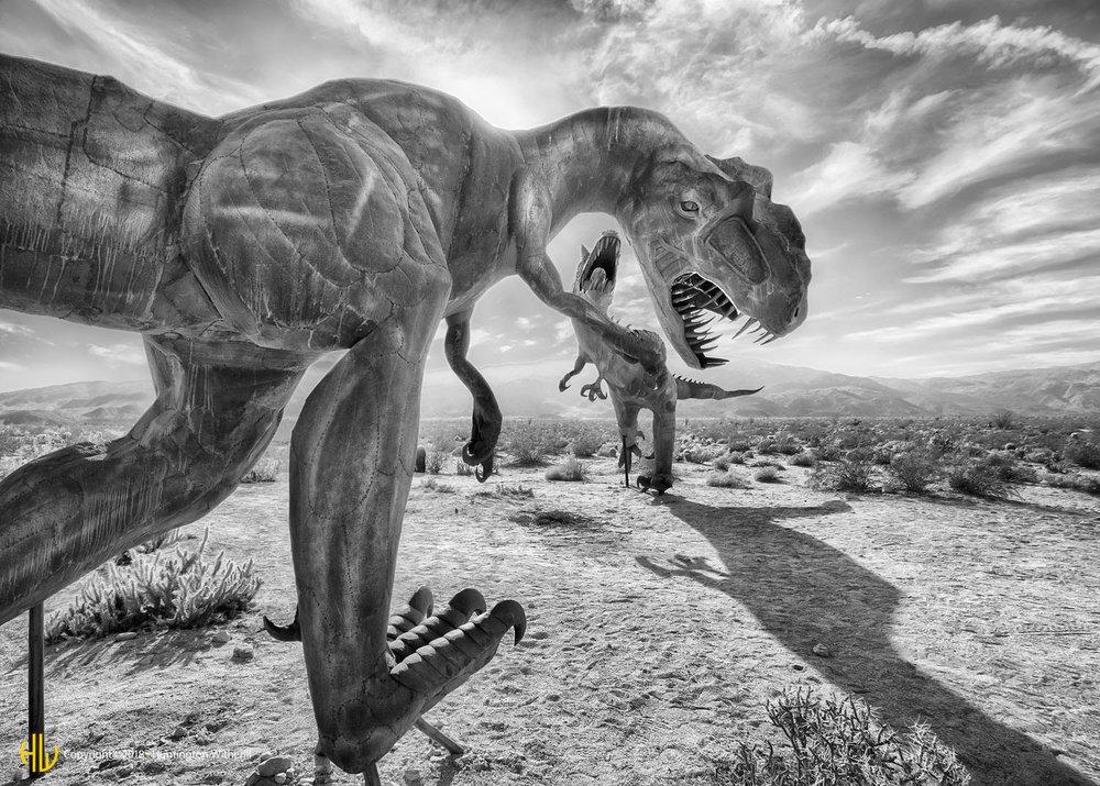 Carnataurus, Borrego Springs, CA, 2016