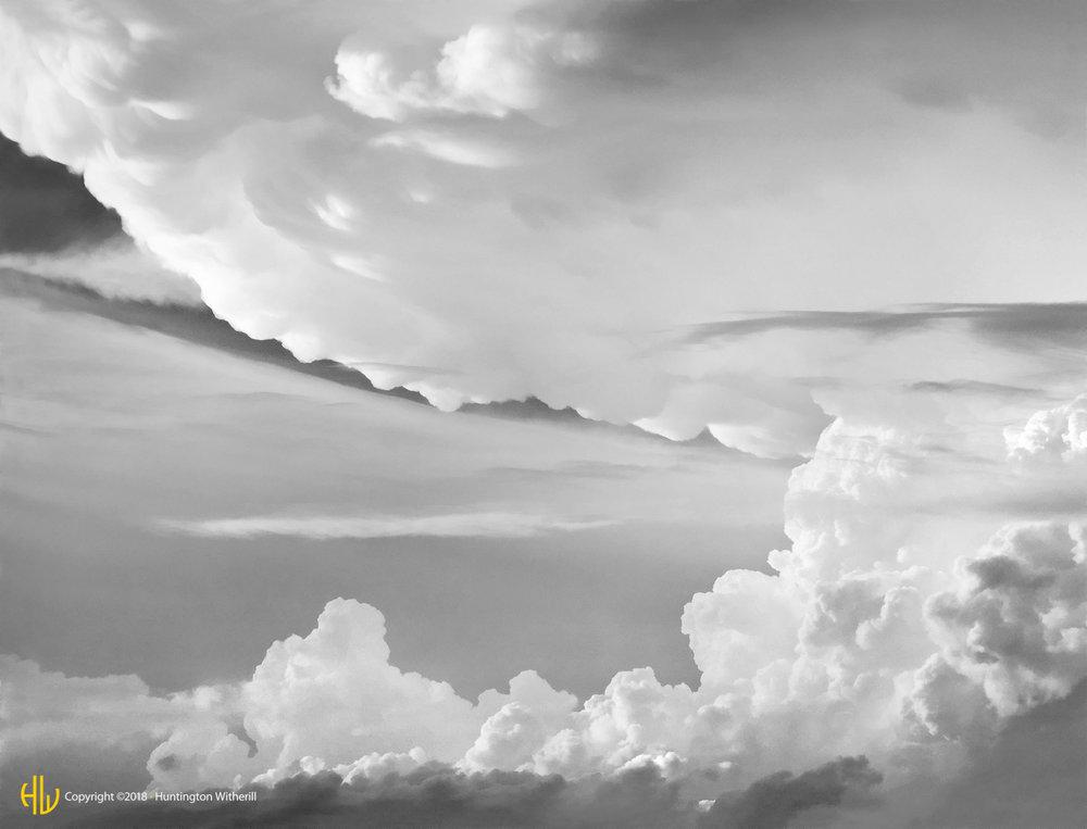Thunderclouds, Cedar Falls, Iowa, 1995